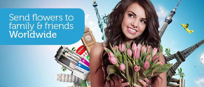 send flowers overseas via Direct2florist delivered by a local florist